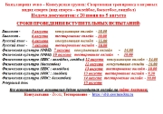 Важная информация для абитуриентов