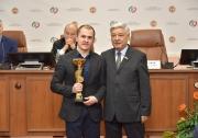 награждается Алексеевский район за Первое  место среди сельских муниципальных районов РТ