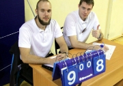 судьи Федерации волейбола РТ Егор Фуфлыгин и Андрей Куприянов