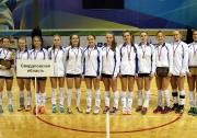 команда девушек Свердловской области стала победителем финальных игр Первенства России среди девушек 2001-02 г.р.